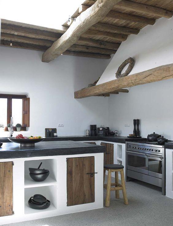 mittelmeer außenküche houses in 2020 küchendesign küche bauen küchen design on outdoor kitchen ytong id=75916