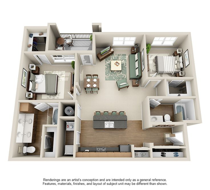 Luxury 1, 2, and 3 Bedroom Apartments in Lexington, KY # ...