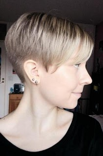 photo of haircuts 1000 ideas about pixie to bob on grown out 5594