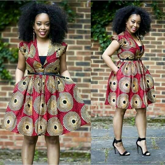 African Church dress
