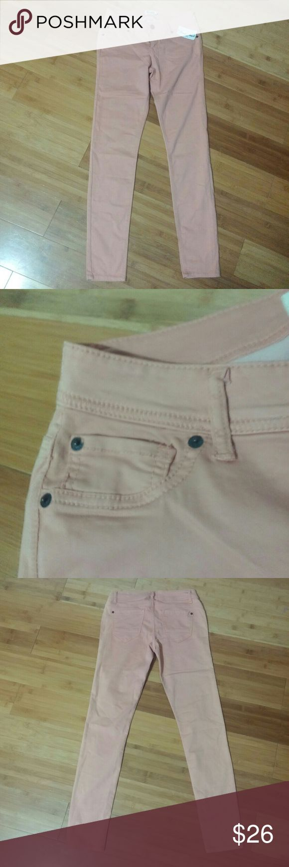 Coral Skinny jeans New never worn strechy material but not quiet leggings and soft scarlet blv Jeans Skinny