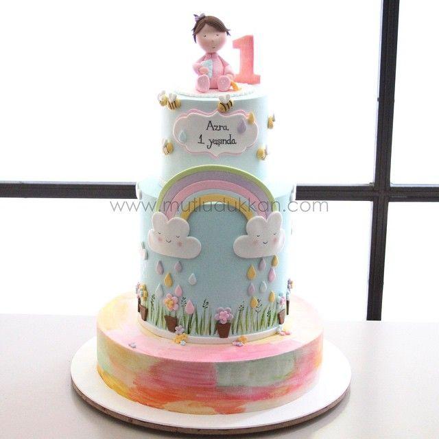 Premier gâteau d'anniversaire www.tumblr.com / …   – Cake Ideas