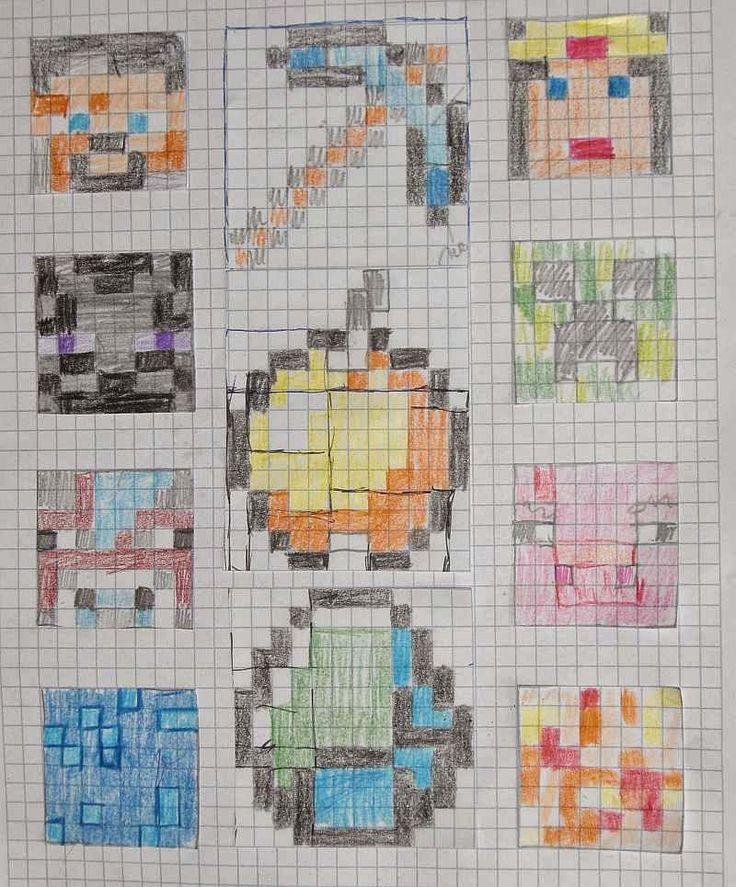 Podařilo se mi došít celý top deky ve stylu PC hry Minecraft. Některé bloky jsem ani na nestihla ukázat, takže teď se můžete pokochat celým ...