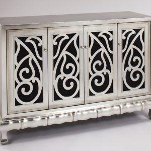 Artmax Cabinet With 4 Doors