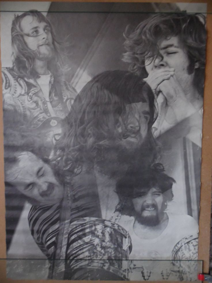 Canned Heat Blues Rock band black and white poster by theposterposter on Etsy