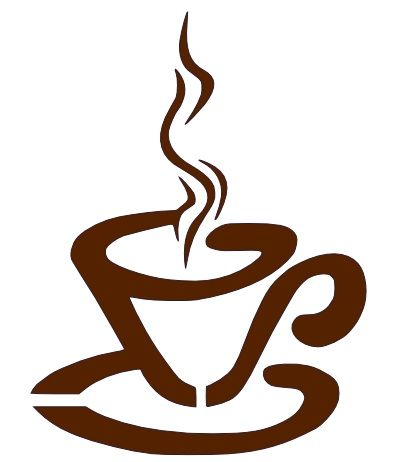 coffee cartoons pictures | tweaked a cute cartoon drawing of a cup of coffee to a steaming coffee ...