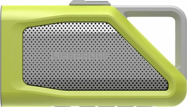 LifeProof - AQUAPHONICS AQ9 Portable Bluetooth Speaker - Laguna Clay - Front Zoom