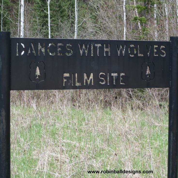 """Kevin Costner's film, """"Dances with Wolves"""" filming site outside Spearfish, South Dakota. For more travel fun go to: www.robinballdesignsblog.com"""
