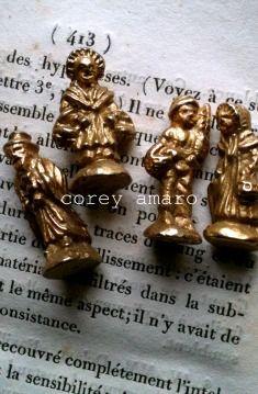 Golden Feves for the Kings Cake...