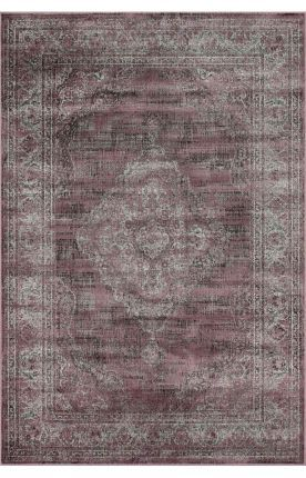 "Rugs USA Beaumont Vintage Aubusson Dk Mauve Rug 3'11"" x 5'7"" $170+sps65 65% off entrance to master suite?"