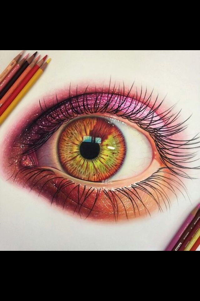 17 Best Ideas About Cool Eye Drawings On Pinterest