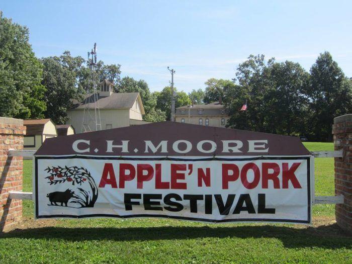 4. Apple n Pork Festival (Clinton)