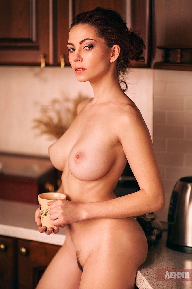 Love woman and coffee