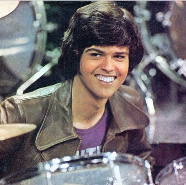 "Donny Osmond early 1976 this was taken while Doing their song ""Utah"" on the Donny & Marie show"