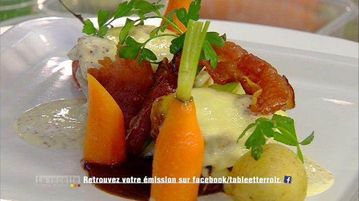 Filet pur de porc au fromage d'Orval