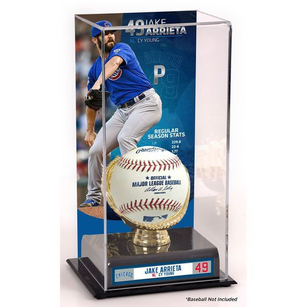 Jake Arrieta Chicago Cubs Fanatics Authentic 2015 National League Cy Young Award Sublimated Display Case with Image - $49.99
