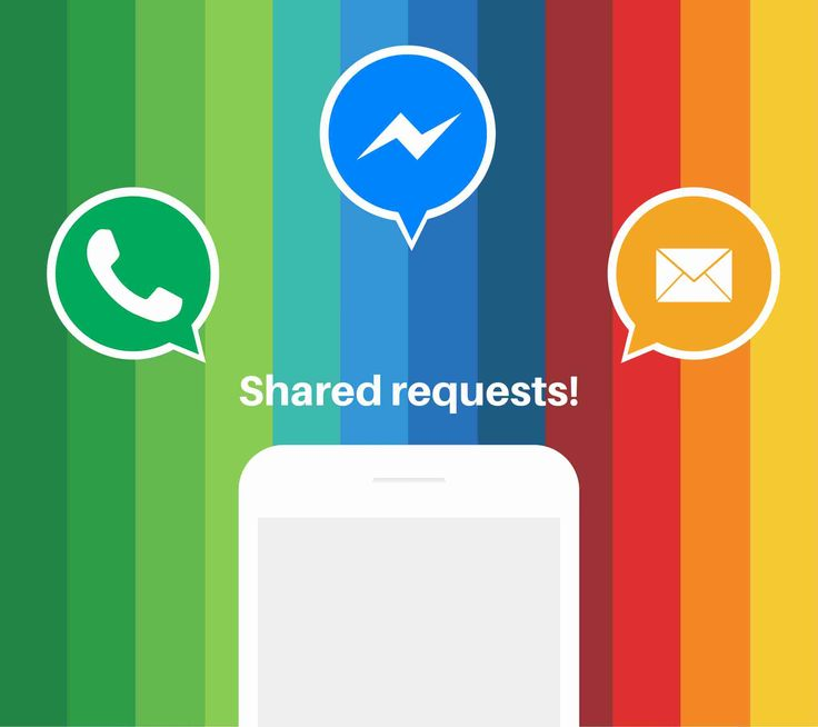 With bunq, you can request and send payments via SMS, WhatsApp, Facebook Messenger, or Email.