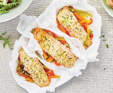 Recept Filet z lososa pečený na grilu