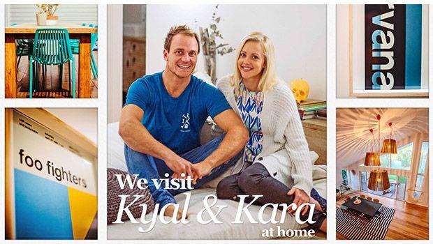 Visit Kyal and Kara from The Block at home