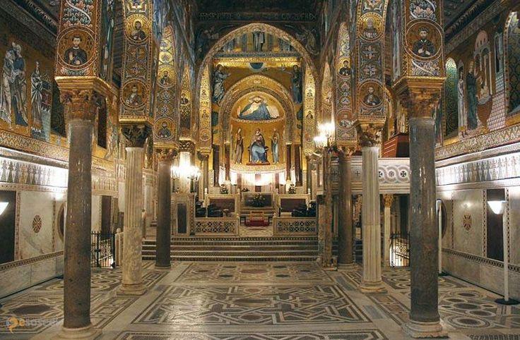 Марторана – #Италия #Сицилия #Палермо (#IT_82) Одним из двух кафедральных соборов епархии Пьяна-дельи-Албанези.  ↳ http://ru.esosedi.org/IT/82/1000235780/martorana/