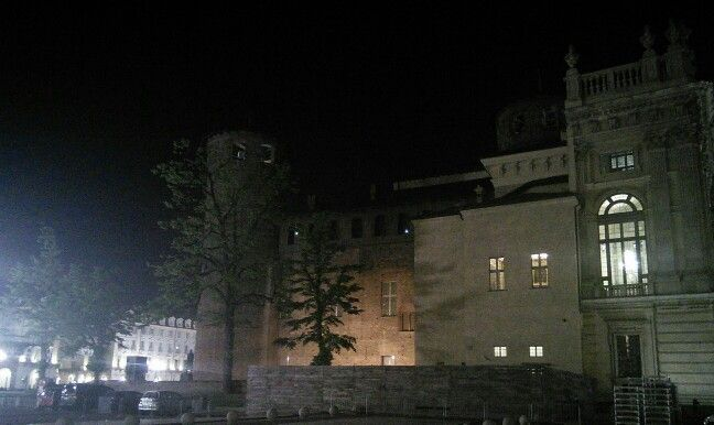 Scorcio di Torino, palazzo madama #LnM #rudetorino