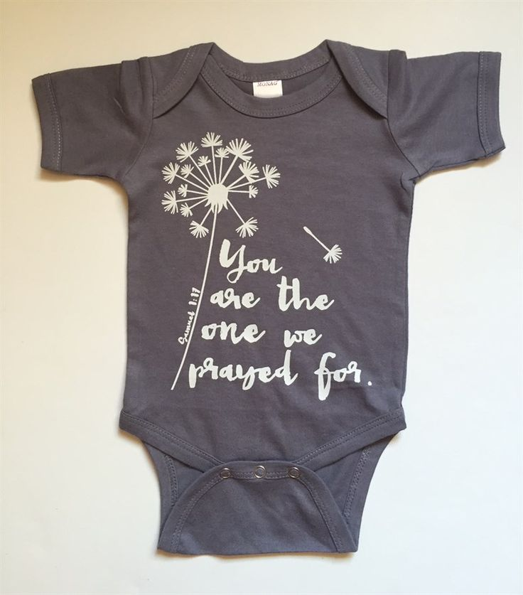 We are so excited to share our newest designs with you on Jane.com! Babies are the biggest blessings. We have 6 different designs and bible versus that are inspired by faith and speak love over your little one.Time to stock up on baby shower gifts! Such a perfect present for a soon-to-be momma and daddy. This adorable bodysuit also makes a sweet photo op. You have several different colors of bodysuits to choose from. We are offering sizes NEWBORN up to 18 months. *We are un...