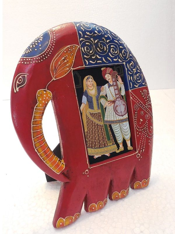 Buy elephant #photoframe for your home and office online at #craftshopsindia