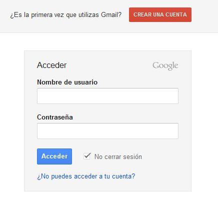crear correo electronico gmail
