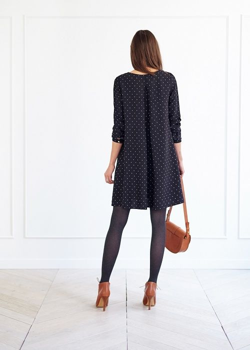 Robe Alto - Lookbook Automne Hiver  - www.sezane.com #sezane #robe #alto #lookbook