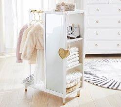 Madeline Play Vanity Simply White Playroom Furniture