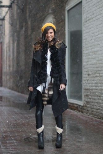 http://www.refinery29.com/winter-street-style-in-chicago/slideshow?page=17#slide-17 #RockStar