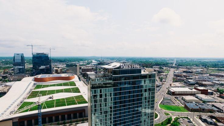Westin Hotel // Nashville, TN Commercial roofing