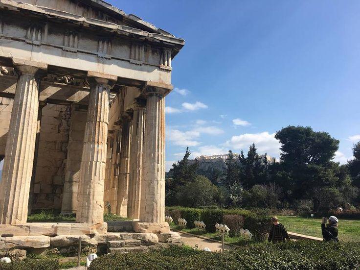 #ancientagoraofathens #athens #greece  #acropolis #templeofhephaistos 460-415 BC #doric #temple #greek #ancient #agora #beautiful #rosinaperfumery #giannitsopoulou6 #glyfada #nicheperfumery #shop ❤