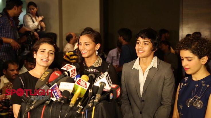 Dangal Movie Review By Sanya Malhotra, Fatima Sana Shaikh, Geeta Phogat,...