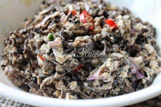 Kerabu Jantung Pisang Sedap Diratah Begitu Sahaja Recipes Food Asian Salad