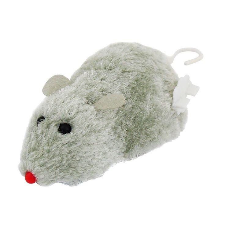 Ratinhos pelúcia com motor de corda, para divertir o seu gato.  Os brinquedos fazem com que seu gato não fique tão entediado e estimula sua atividade física.  Dimensões do brinquedo: 13 x 6,5 x 5 cm.