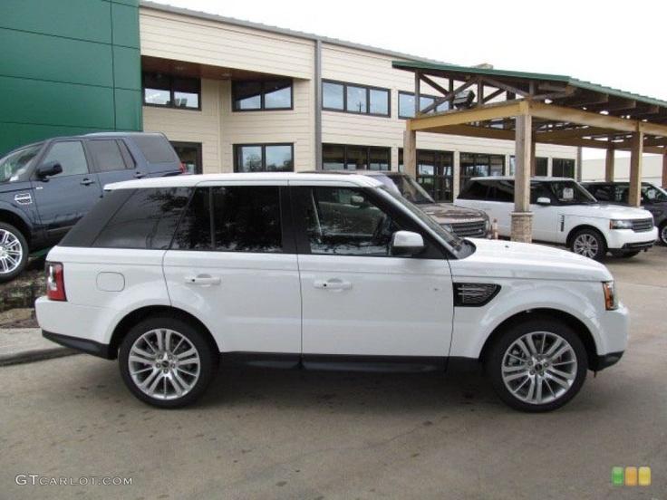 2013 white range rover sport