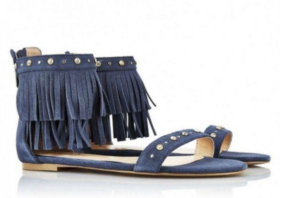 Sandali blu con frange Liu Jo  #sandali #sandals #heels #tacchi #womanshoes #fashion #mood #trend #shoes2014 #scarpedonna #shoes #scarpe #calzature #moda #woman #fashion #springsummer #primaveraestate #moda2014 #springsummer2014 #primaveraestate2014 #flat #liujo
