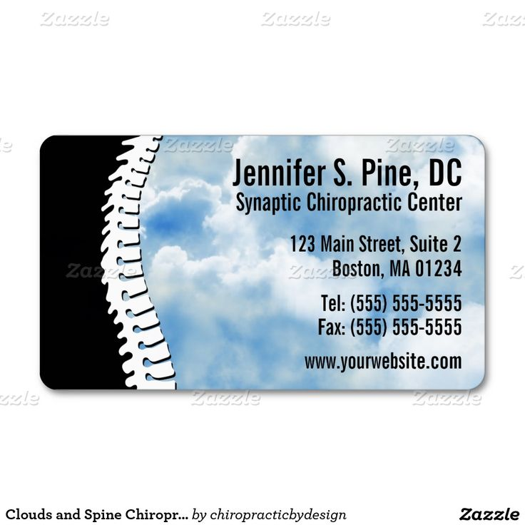 40 best Chiropractic Business Card Designs images on Pinterest ...