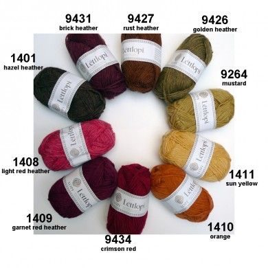 Léttlopi from Ístex: 100% new wool, unpsun with slight twist, worsted « The Icelandic Knitter