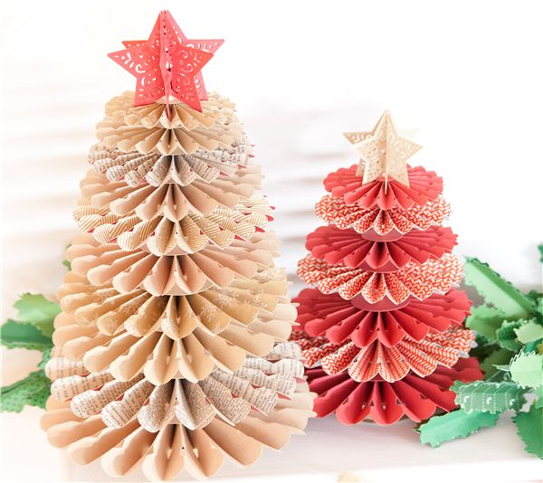 Christmas Tree Decorations Using Paper : Best christmas tree crafts images on xmas