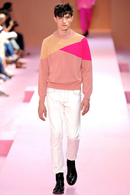 Paul Smith | Spring 2014 Menswear Collection | Style.com More colour blocking brightness.