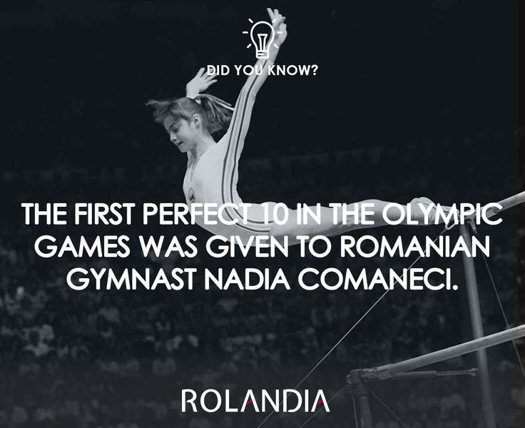 She got the score after her performance in 1976, in Montreal, Canada.  #olympicgames