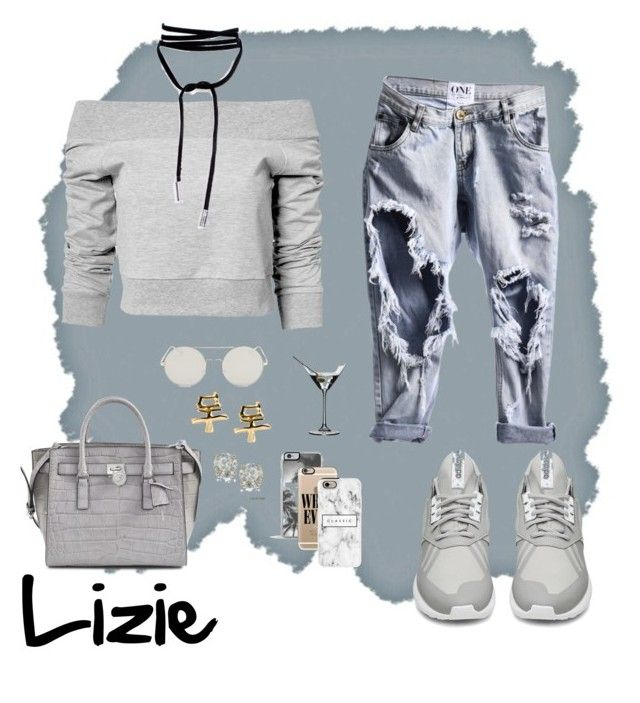 """""""Chilling Day #6"""" by liackon ❤ liked on Polyvore featuring Estradeur, adidas, Zero Gravity, Casetify, Michael Kors, Auriya and Riedel"""