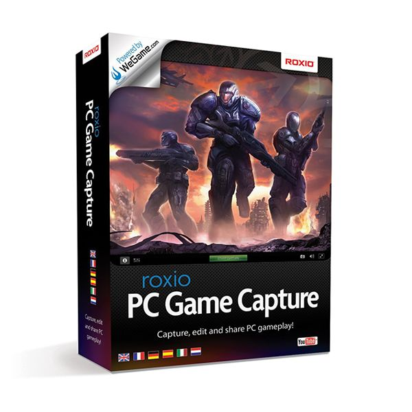 Roxio Game Capture Easily capture real-time gameplay directly from your PC Keep track of your gameplay activity and achievements Buy it now from softvire Online Software Market   #Roxio #RoxioGame #softvireonlinesoftwaremarket #pcgame #sale