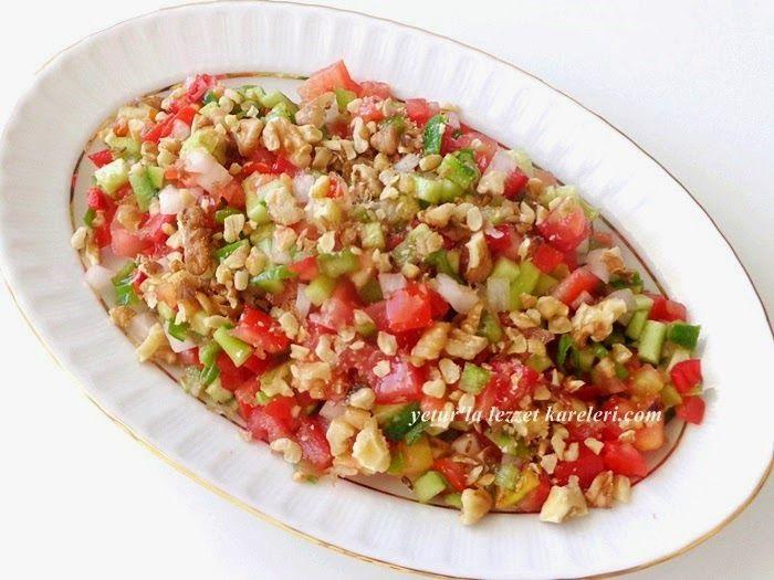 yetur'la lezzet kareleri.com: salata ve mezeler