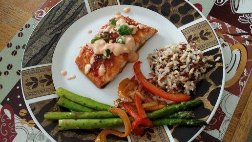 Siracha salmon Ask 4 recipe