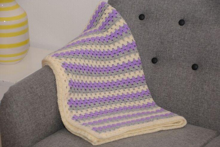 Grannystripes blanket