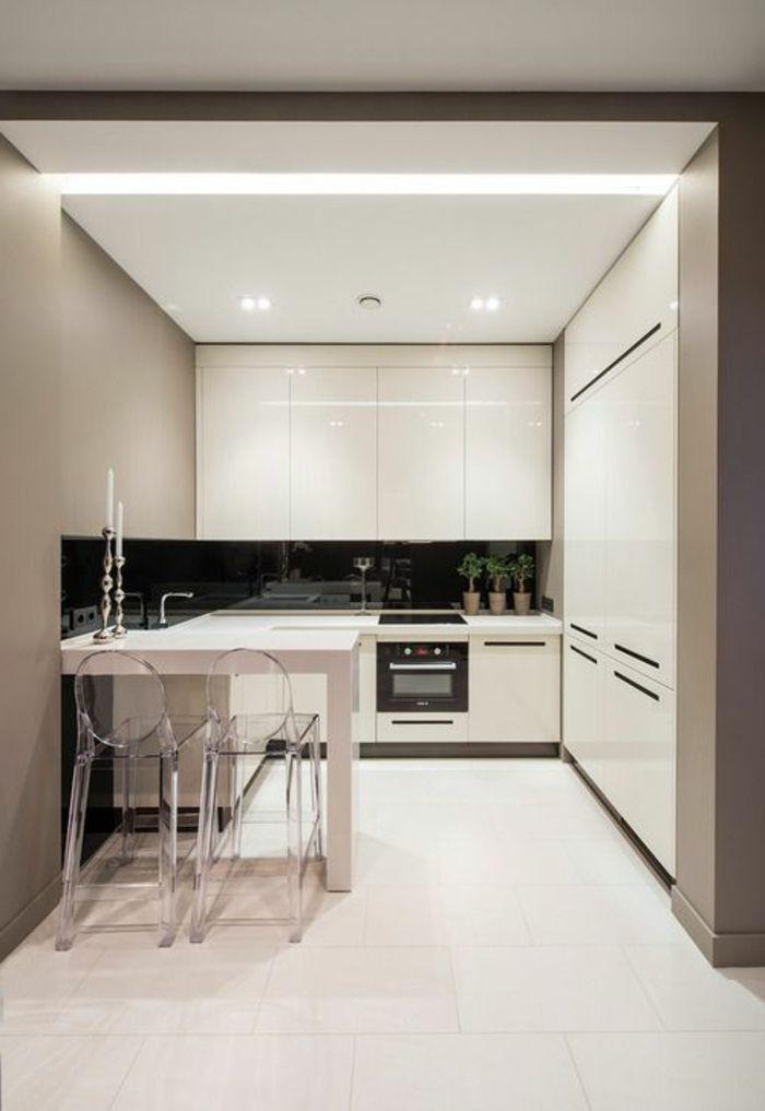 Lu0027éclairage Indirect, 52 Super Idées En Photos! Kitchen Layout DesignSmall  ...