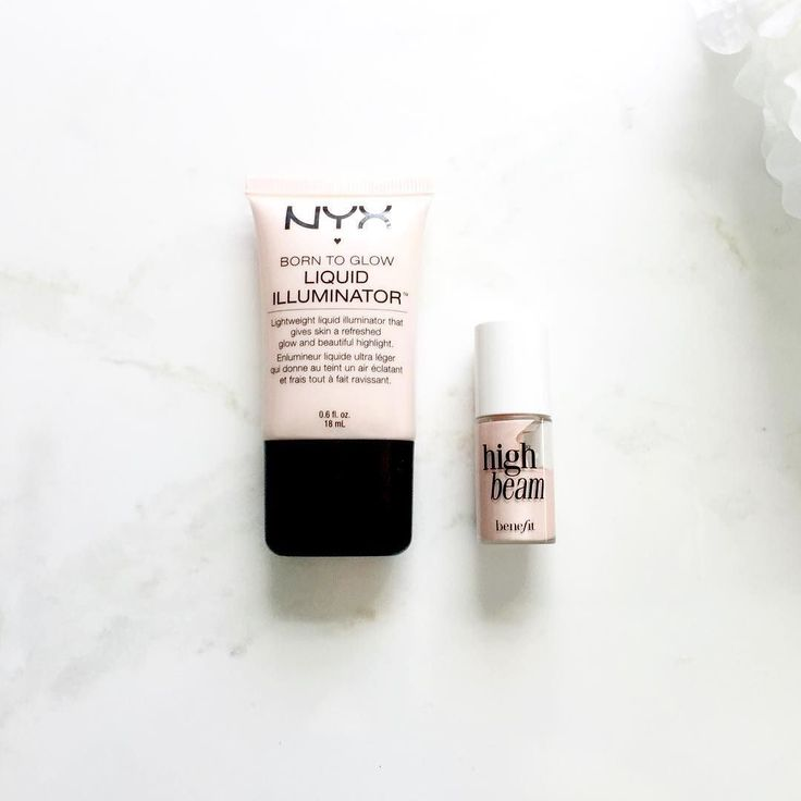 A dupe post went up on my blog yesterday! Is the NYX Illuminator an exact dupe for Benefit High Beam? Click the link in my bio to find out!